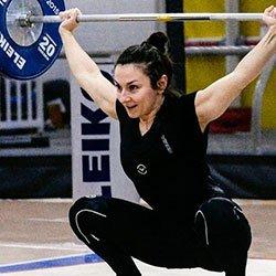 Anna Zinenko Olympic Weightlifting