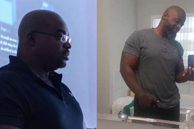Clance Laylor losing 59 lbs