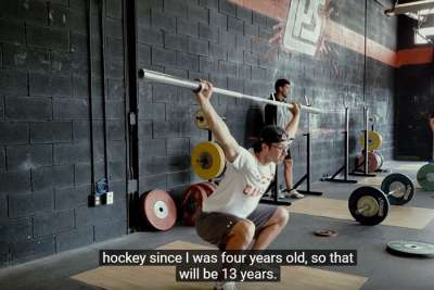 Cody Morgan Hockey Training Success