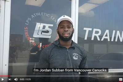 Jordan Subban Hockey Dryland Training Success Story