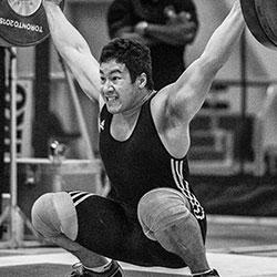 Justin Kovavs Weightlifting Team at LPS