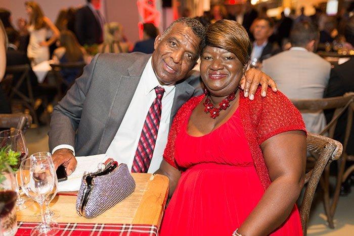 Karl Subban and Maria Subban at EH Gala