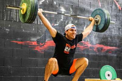 Karl Kuss Snatch Demonstrates Flexibility