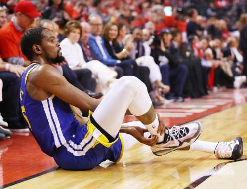 Ways You Can Avoid Kevin Durant's Ruptured Achilles Tendon