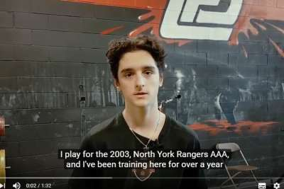 Luca Rea Hockey Success Story in North York