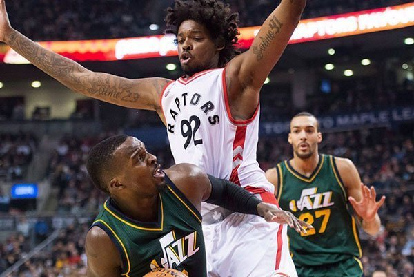 Lucas Nogueira on the Toronto Raptors basketball strength