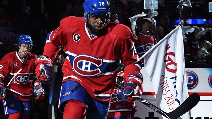 PK Subban, a Professional Athlete in the NHL